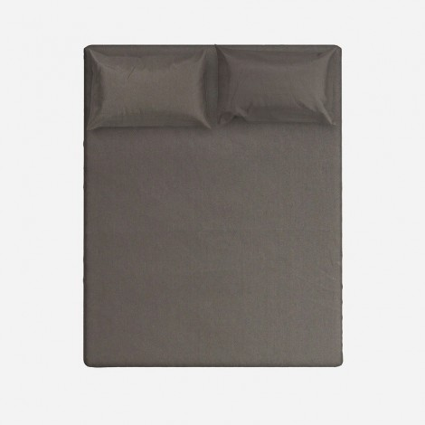 Fitted Sheet - Gunmetal