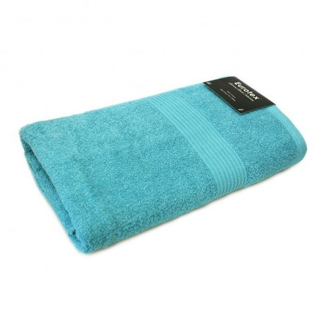 Cotton Bath Towel - Turquoise