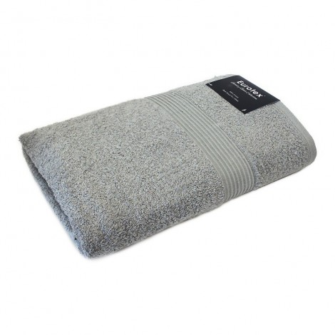 Cotton Bath Towel - Silver