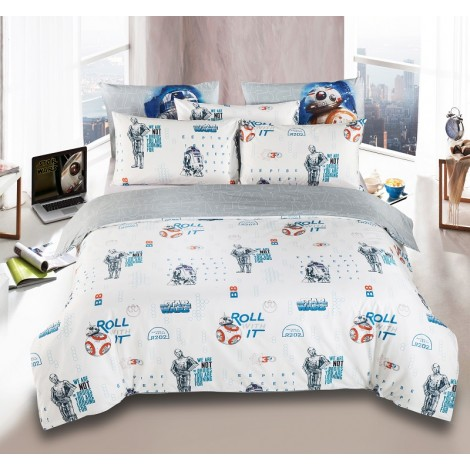 Driod B, Star Wars Cotton Sateen Bedsheets