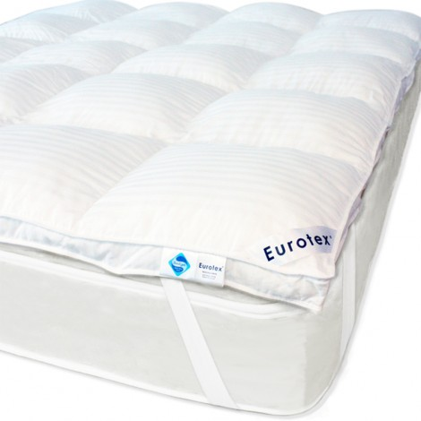 Eurotex FibreGel Luxury Mattress Topper, elastic band at 4 corners