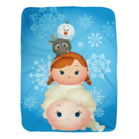 We're Chillin, Disney Frozen 100% Polyester fleece blanket