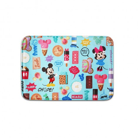 Mickey Go Local, Singlish Memory Foam Bath Mat