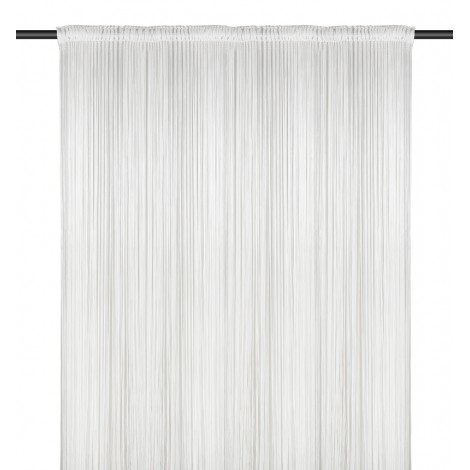 String Curtain, White