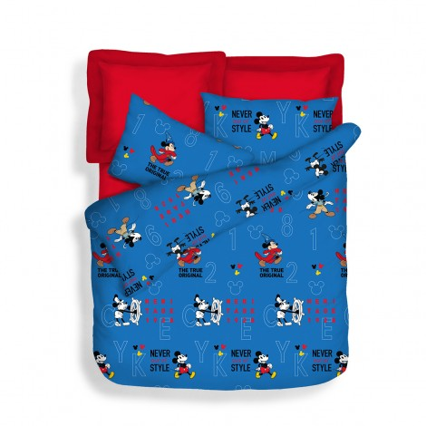 Never Out Of Style, 700TC Disney Mickey Microluxe Bedsheets Set