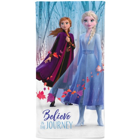 Believe , Disney Frozen 100% Cotton Bath Towel