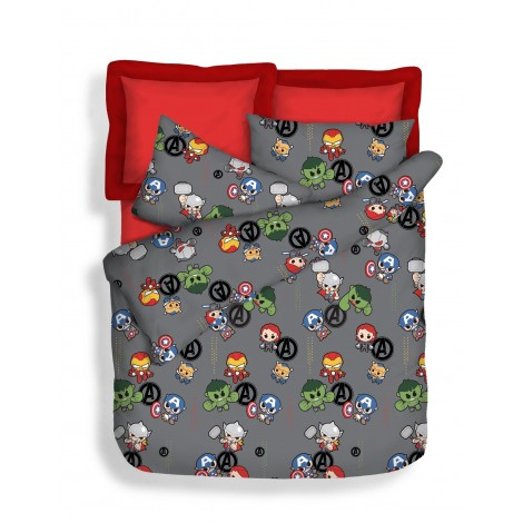 Mini Heroes, 700TC Marvel Microluxe Bedsheets Set