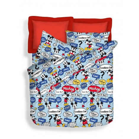 Confirm Can , 700TC Disney Mickey Microluxe Bedsheets Set
