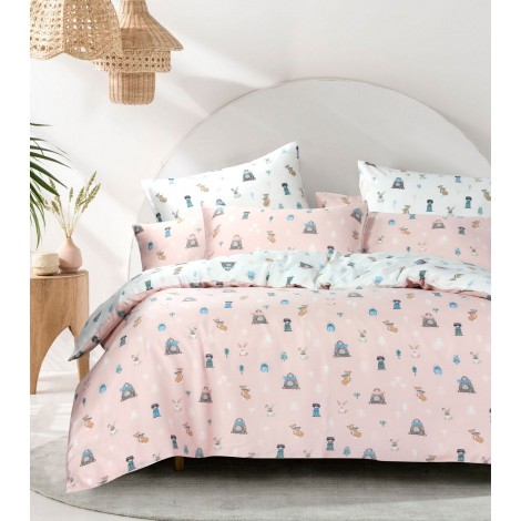 Animal Kingdom, Eurotex Mod Living, 1000TC, 100% Tencel Fitted Bedsheet (also avaiable in Bedset)