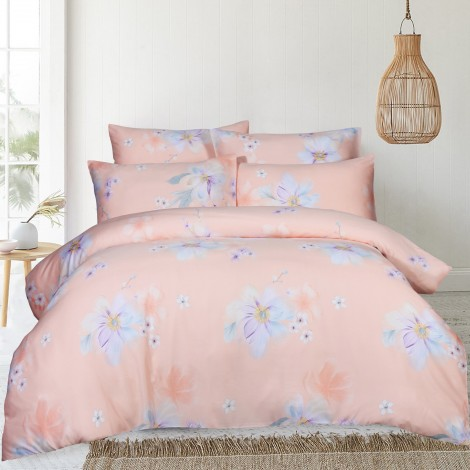 Deena, Eurotex Mod Living, 1000TC, 100% Tencel Fitted Bedsheet (also available in Bedset)