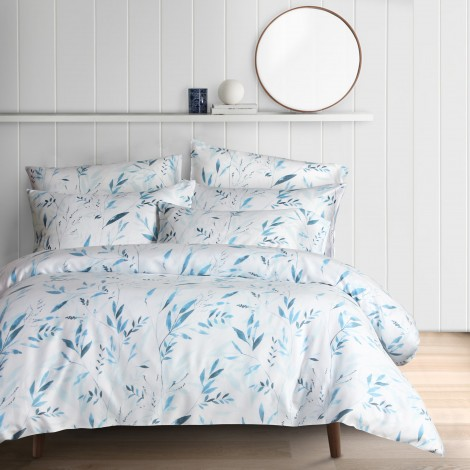 Luiza, Eurotex Mod Living, 1000TC, 100% Tencel Fitted Bedsheet (also available in Bedset)