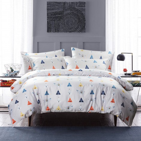 Elephant Parade, Eurotex Mod Living, 1000TC, 100% Tencel Fitted Bedsheet Set (also available in Bedset)