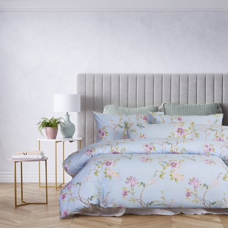Jolie, Eurotex Loft Living, 900tc 100% Cotton Sateen Printed Bedsheet Set (also available in Quilt Cover set)