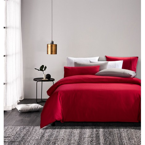 Lino, Eurotex Loft Living 900TC, 100% Cotton Sateen Jacquard Fitted Bedset
